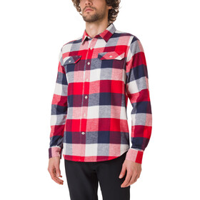 Columbia Flare Gun Camisa Franela Stretch Hombre, sea salt big check